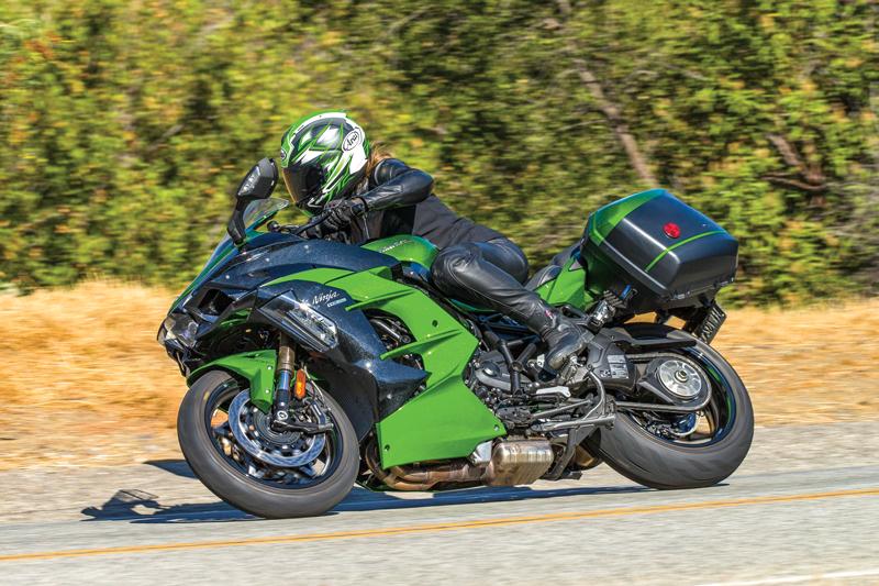 2018 Kawasaki Ninja H2 Sx Se Road Test Review