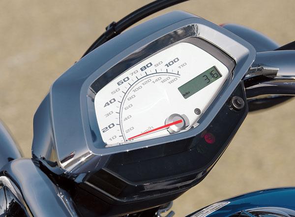 2010 Honda VT13VX Fury Gauges