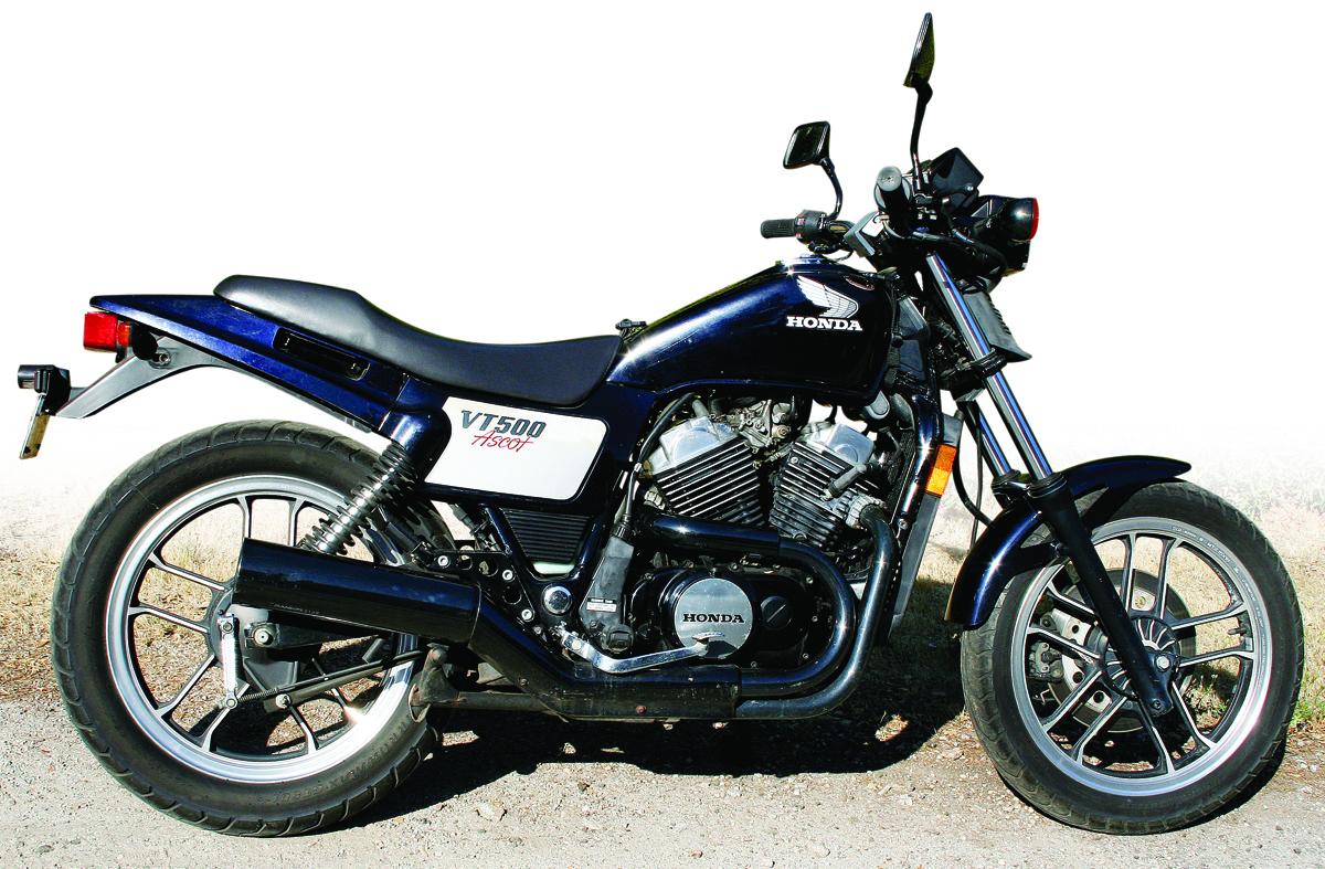 H Garage Honda Ascot VT500 Custom - Rear Right   Bike-urious