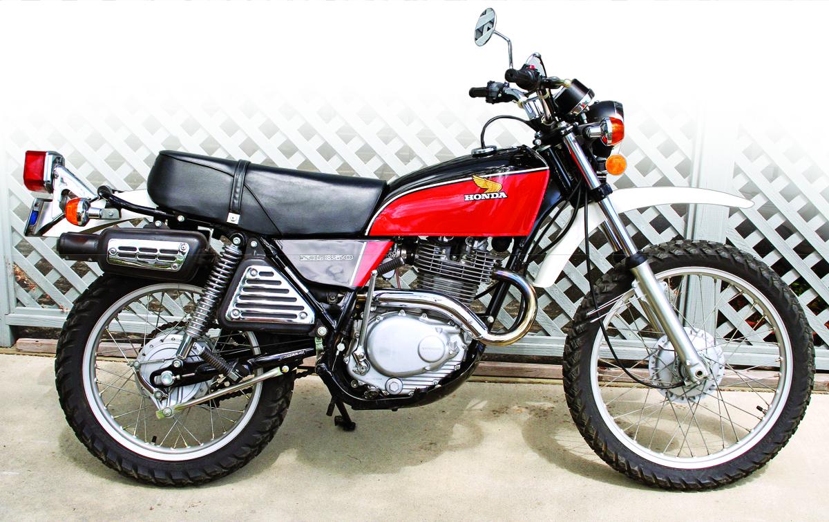 Honda Xl350 Dual Sport 1974 1978 Rider Magazine
