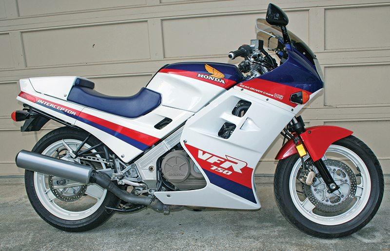 Honda VFR750F Interceptor: 1986; VFR750F: 1990-1997   Rider Magazine
