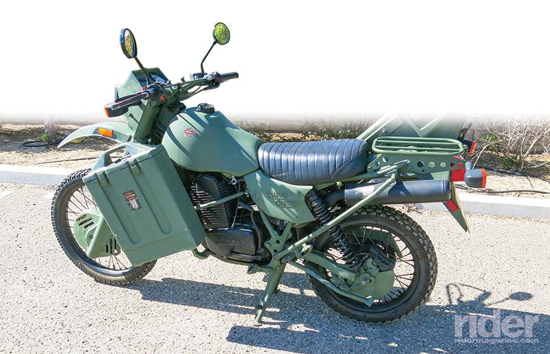 1996 Harley-Davidson MT350E. Owner: Chris Backs, Santa Maria, California.