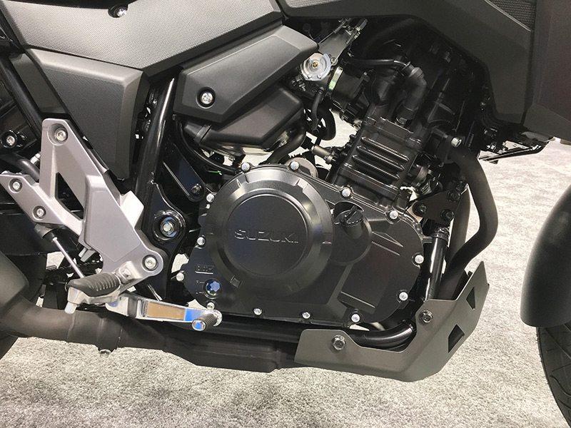 2018 Suzuki V-Strom 250 engine