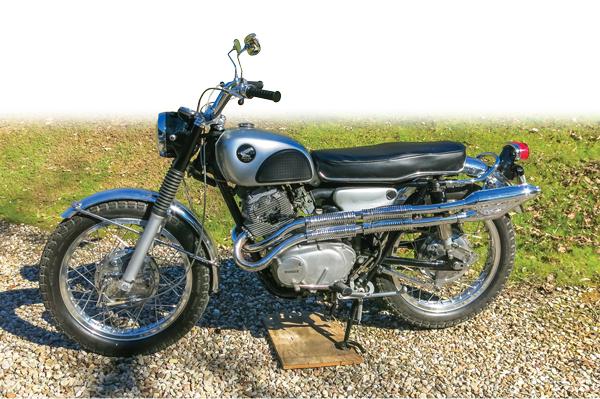 1965-1968 Honda Cl77 Scrambler 305