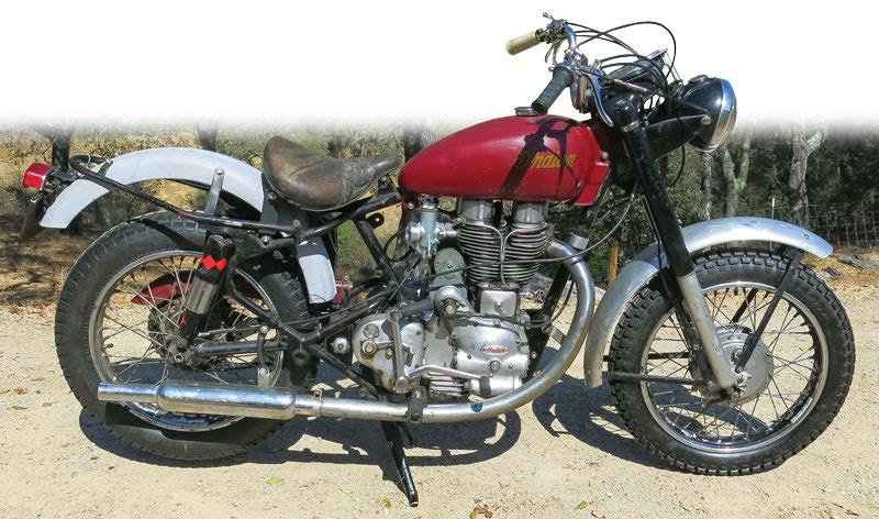 1956 Indian Woodsman 500
