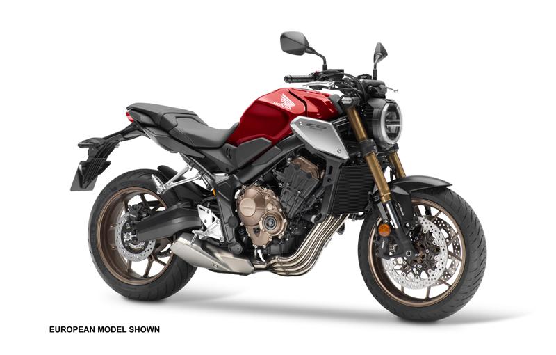 2019 Honda CB650R. Images courtesy Honda.
