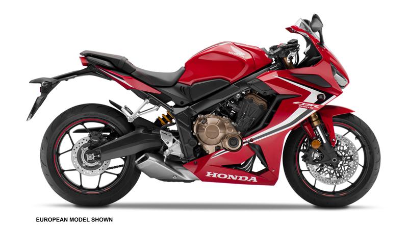2019 Honda CBR650R. Images courtesy Honda.