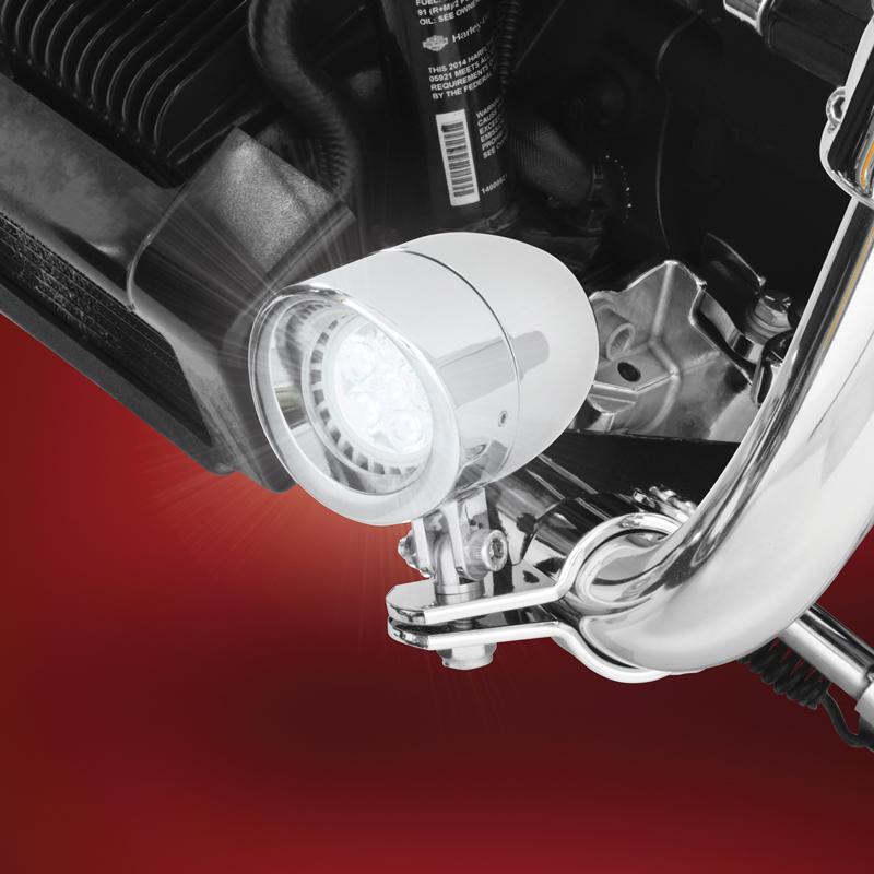 motorcycle auxiliary lighting