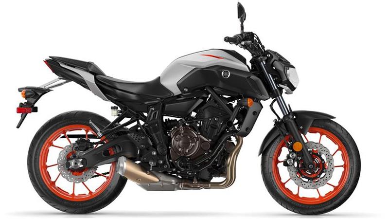 2019 Yamaha MT-07.
