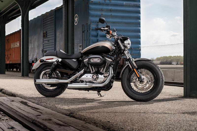 2019 Harley-Davidson 1200 Custom.