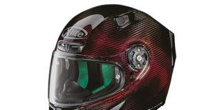 X-lite X803 Ultra Carbon Helmet in Nuance Red.