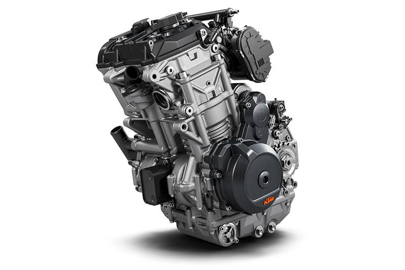 KTM 790 Adventure LC8c parallel twin engine