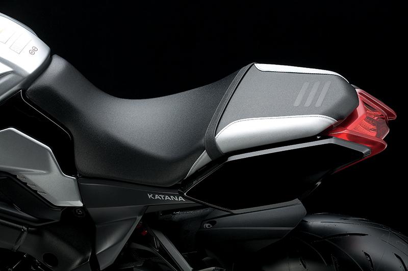 2020 Suzuki Katana seat