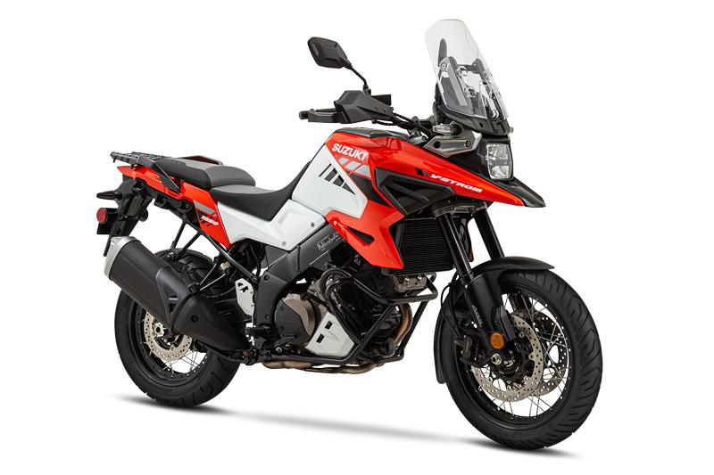 2020 Suzuki V-Strom 1050XT Orange and White