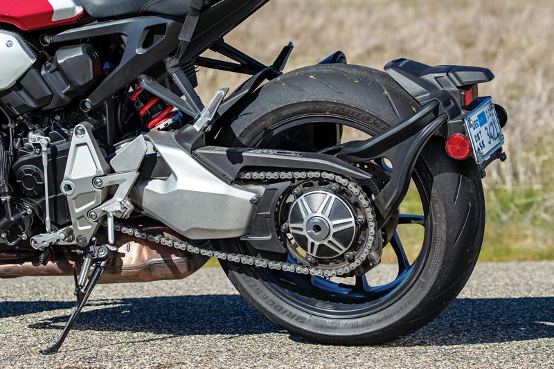 Honda CB1000R swingarm