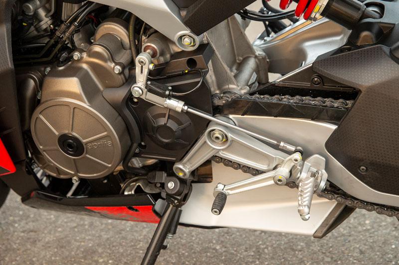 2021 Aprilia RS 660 Quickshifter and Autoblipper