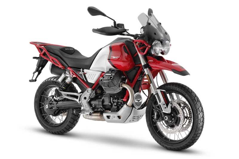 2021 Moto Guzzi V85 TT in Rosso Uluru