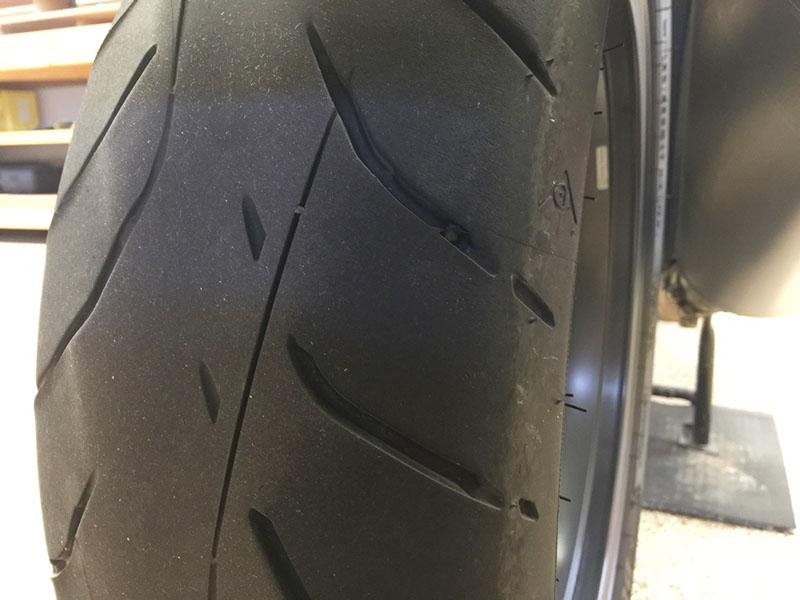 Dunlop Sportmax Roadsmart IV Tire rear 10000 miles